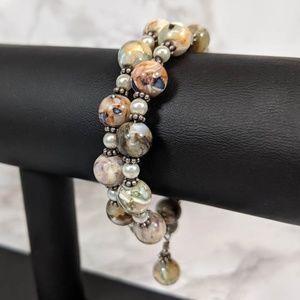 Abalone & Pearl Bracelet